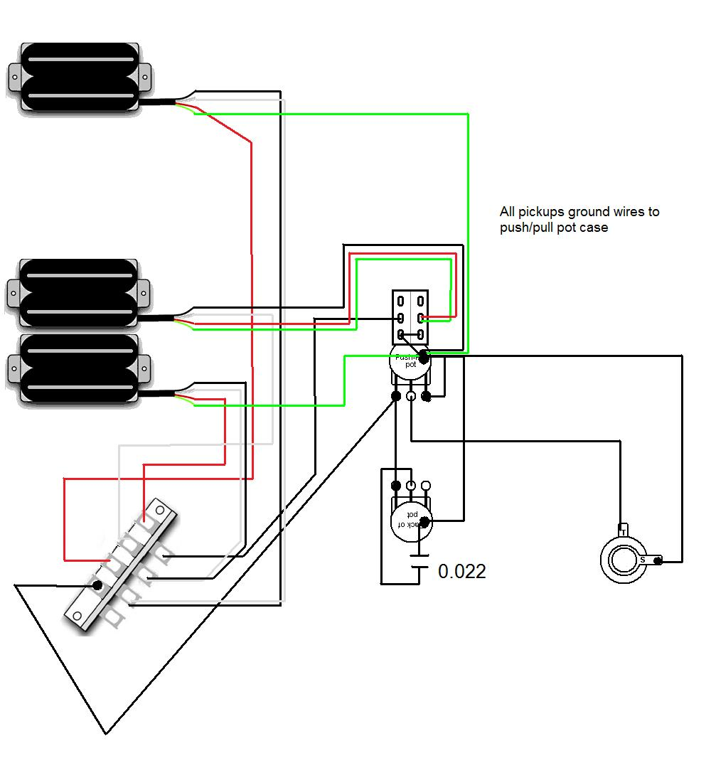 guitar wiring help with coil tapping ! [archive] muse messageboard gfs crunchy rails wiring diagram at gsmx.co