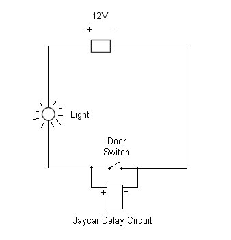13086 Jaycar Interior Light Delay Kit Help on interior light wiring diagram