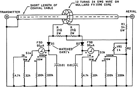 measurements on balanced linesExplain Differences In Swr Meter Circuits Electrical Engineering #20