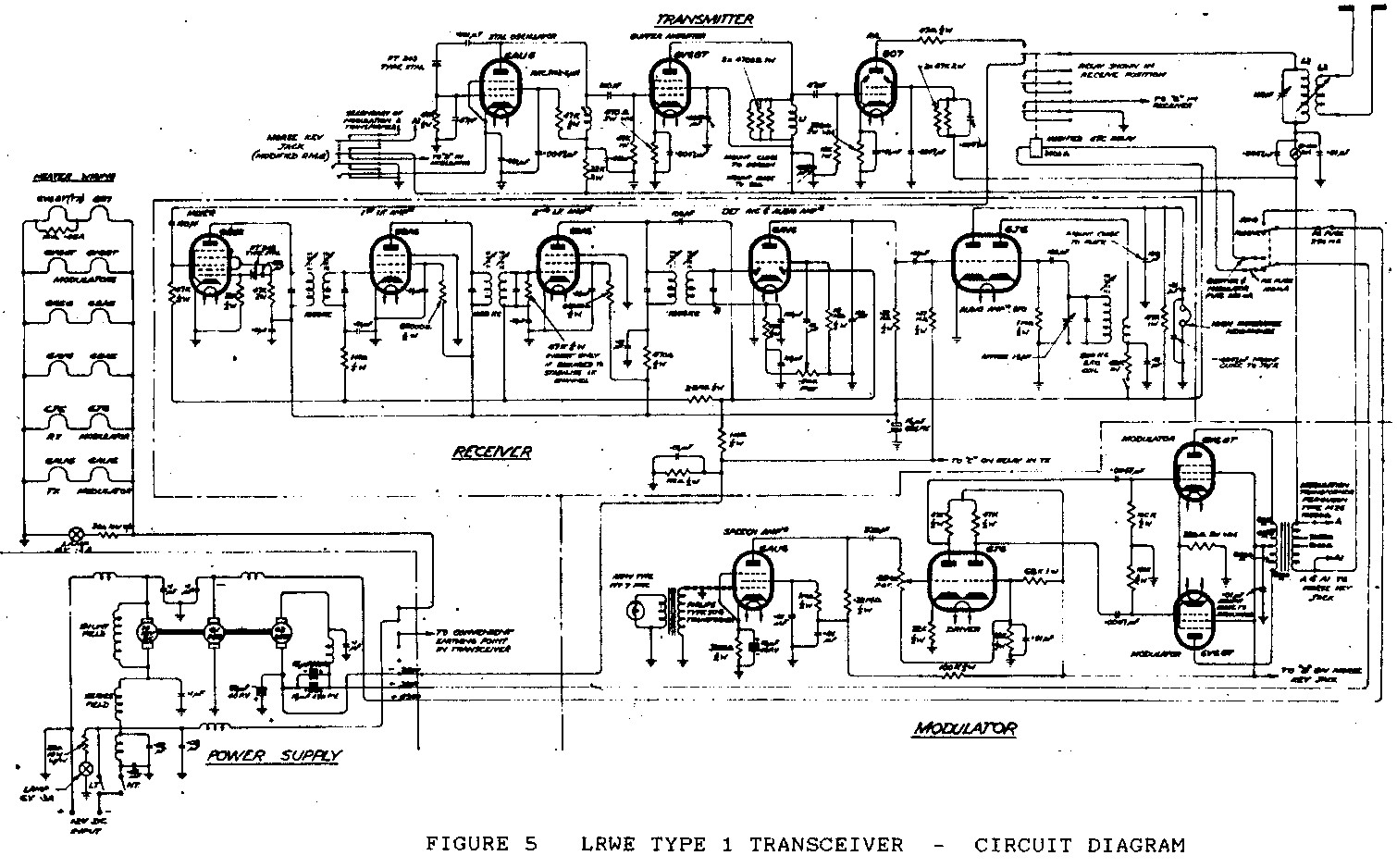 Transceiver Circuit Diagram Can Wire Vk6wia News Broadcast Circuits Moblile Radio At Woomera Range Ssb Vehicles Were Provided With Whip Aerials For