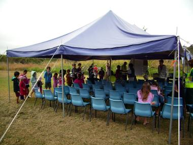 Tent for Kids Club