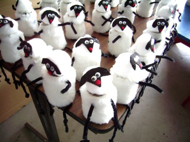 Sheep handcraft