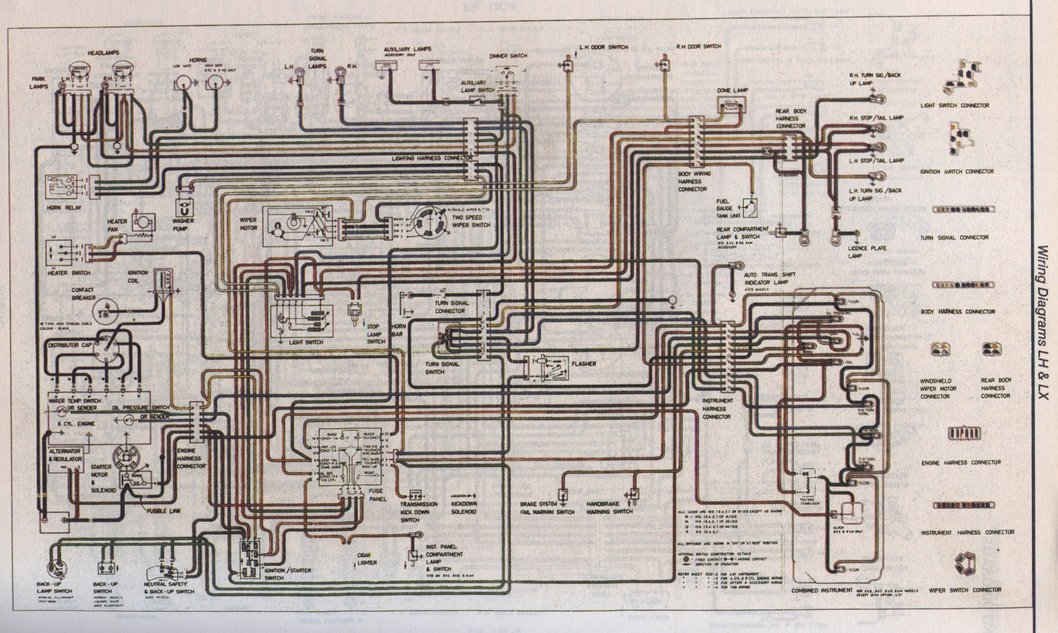 Lx Wiring Diagram - General Lh-lx-uc